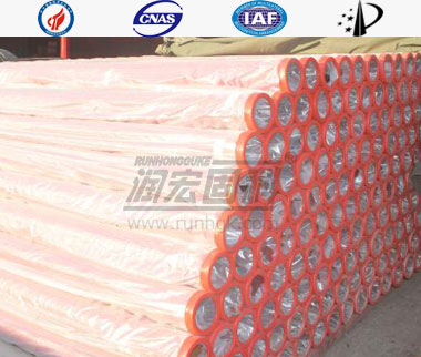Concrete Boom Pump Wear Resistant Pipe   Pipe Body Single Wall Structure